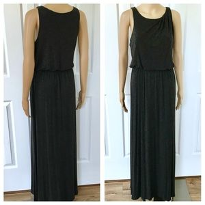 LOFT  Sleeveless Elasticated Waist Maxi Dress S